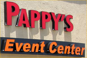 Pappys Event Center logo